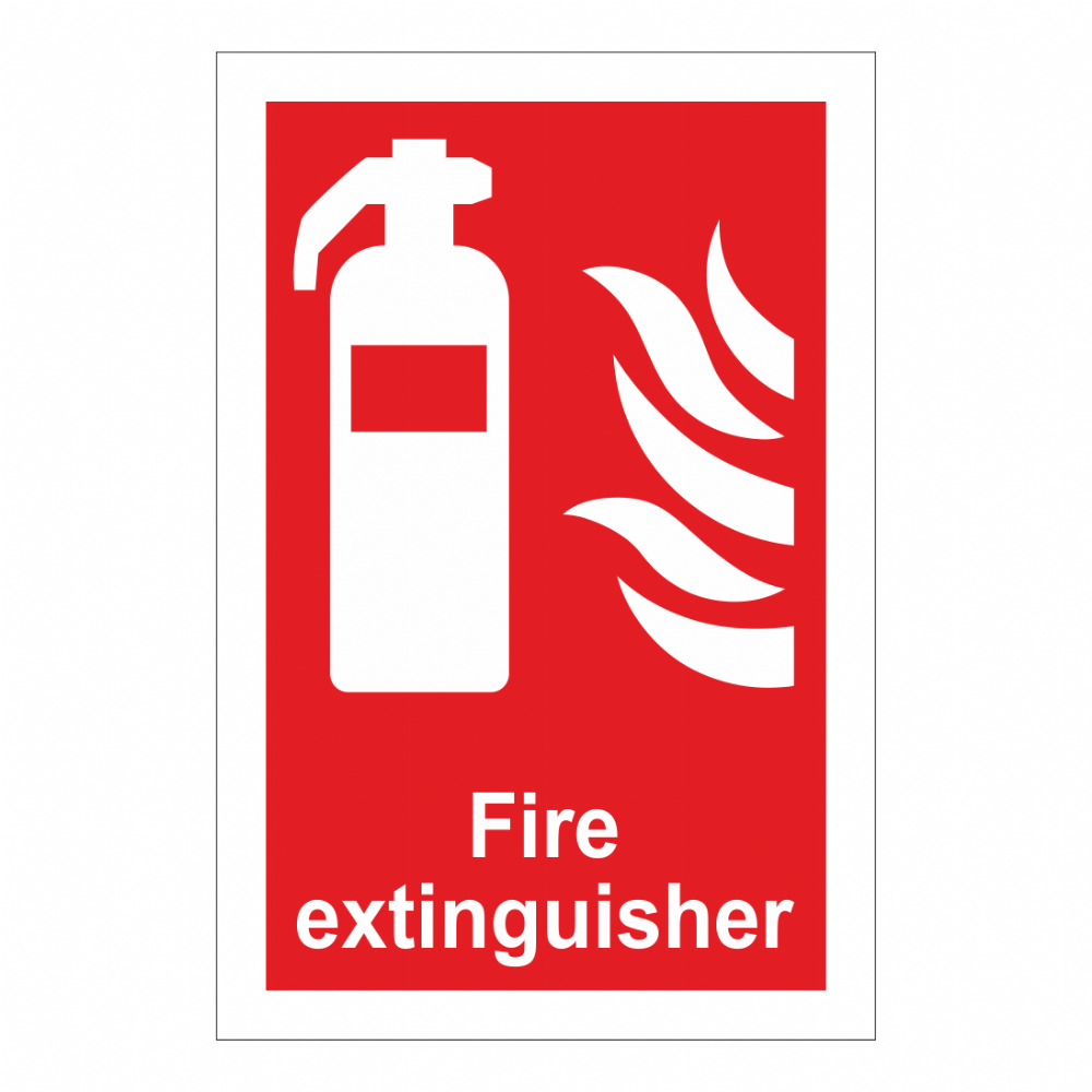 Fire Extinguisher Sign Fire Equipment Signs Bath Signs